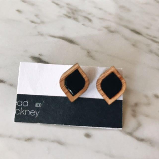 Lightweight Wooded Earrings