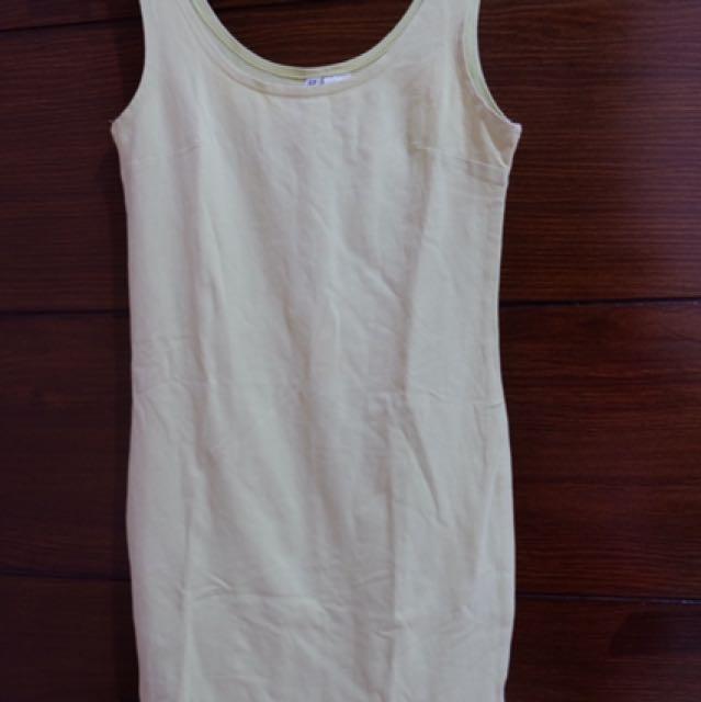 Lime Bodycon Dress H&M