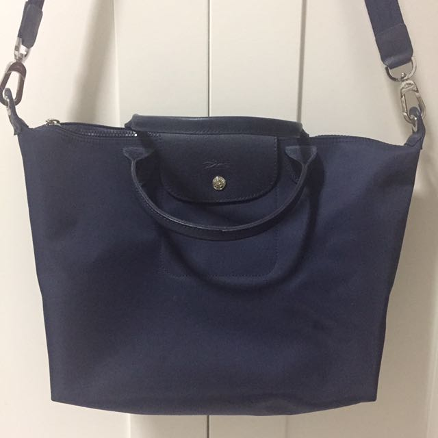 Longchamp Néo (Navy Blue) Medium