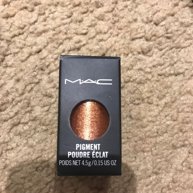 MAC pigment: Copper Sparkle