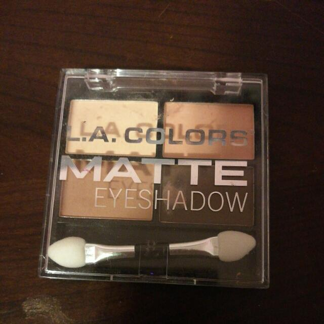Matte Eyeshadow Palette Natural Colours Makeup