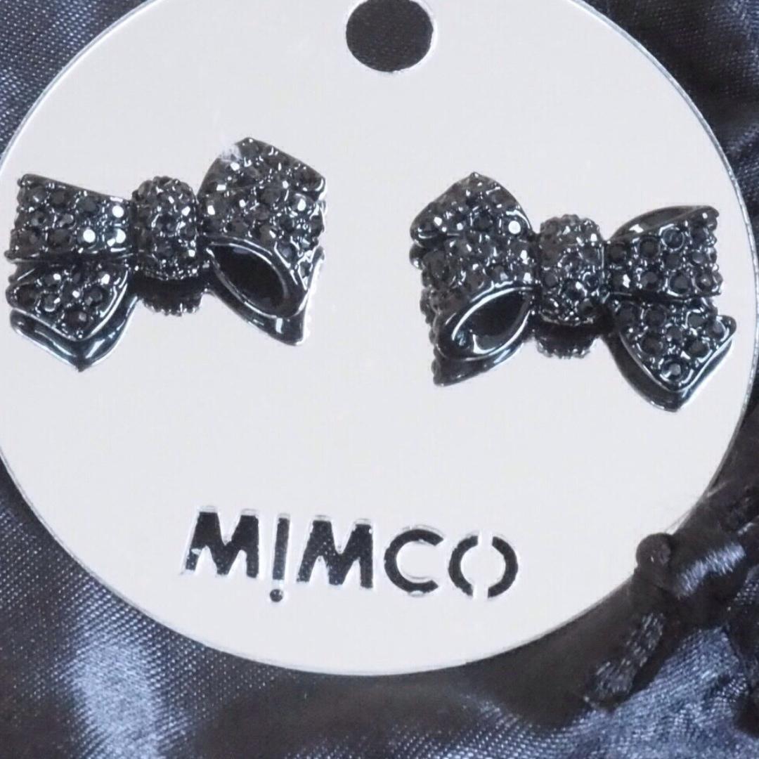 MIMCO- Mini bow stud BNWT