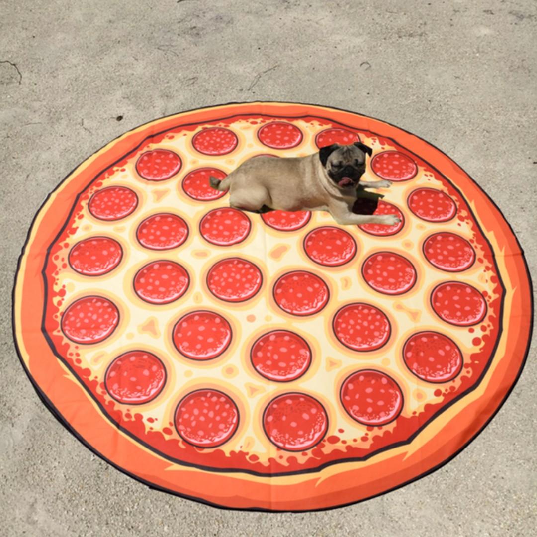 ♡minibox♡披薩大海灘巾