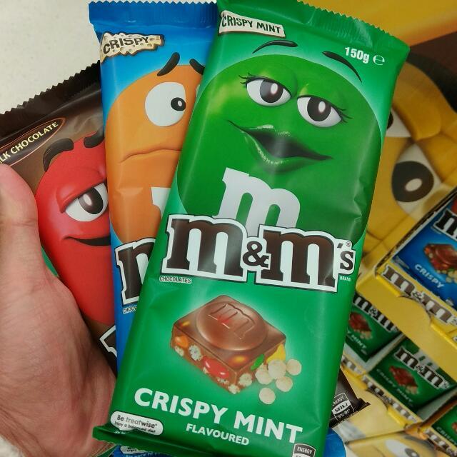 M M S Chocolate Bar New Makanan Minuman Snek Di Carousell