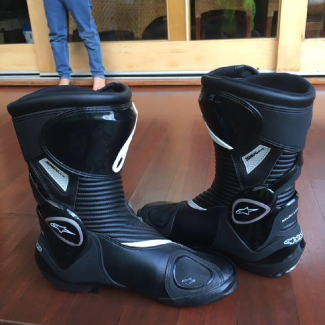 Motorbike Boots ALPINESTARS SMX PLUS