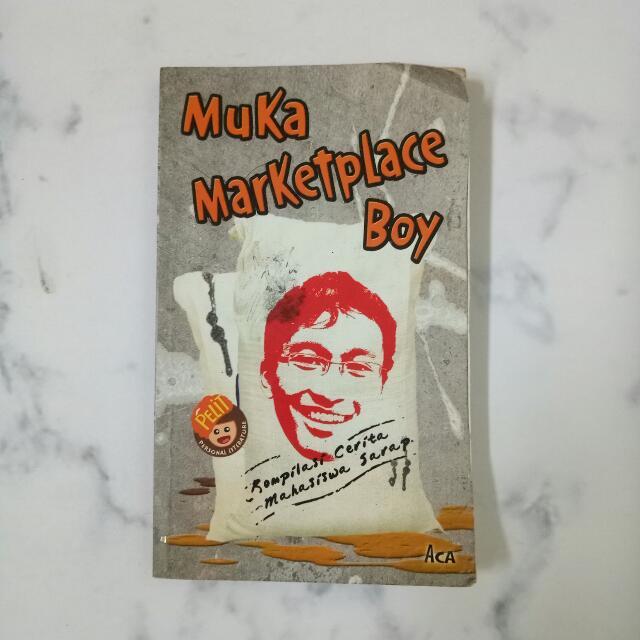 Muka Marketplace Boy Novel Komedi