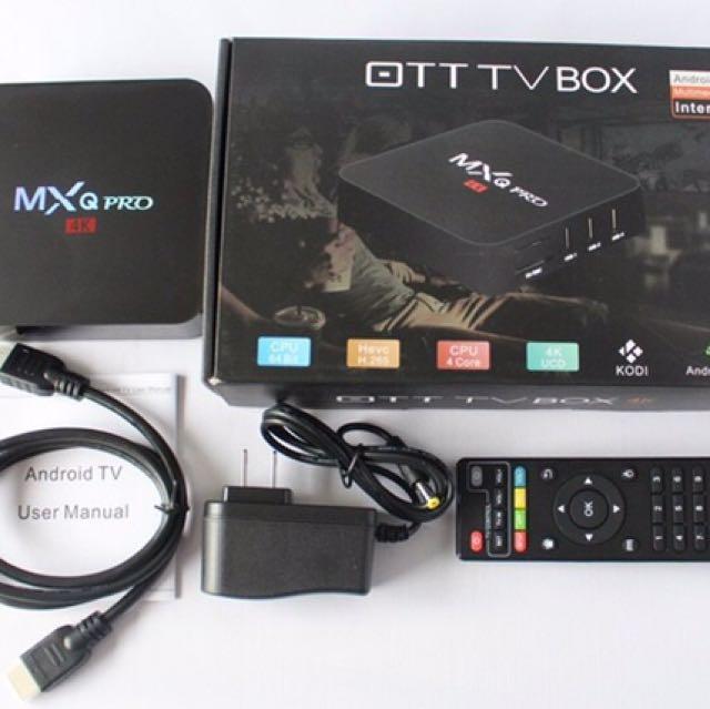 MXQ Pro Android Box S905X