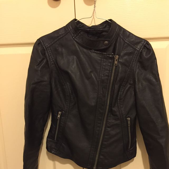 New Look Pleather Jacket