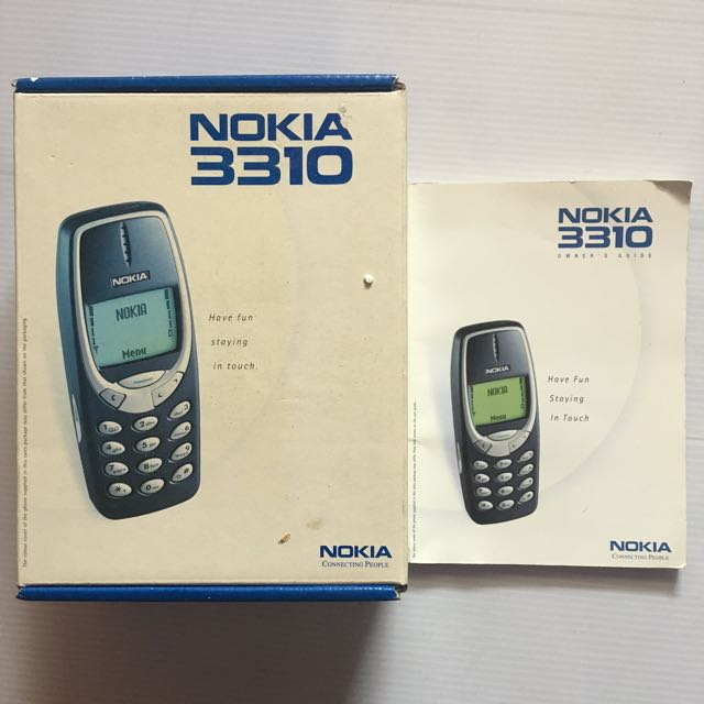 nokia 3310 box with manual mobiles tablets others on carousell rh sg carousell com nokia 3310 manual de instrucciones nokia 3310 manual download