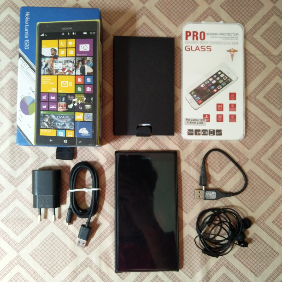 Nokia Lumia 1520 32gb Semi Faulty Mobile Phones Tablets Lenovo Tab 2 A7 30 Putih Tablet Android Others On Carousell