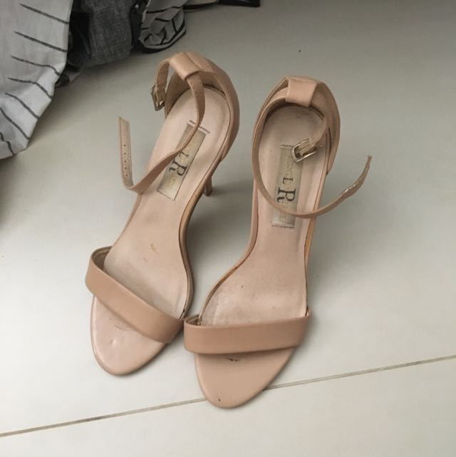 Nude London Rebel Heels