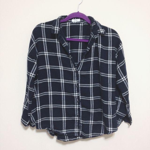 Oak+Fort Plaid Shirt