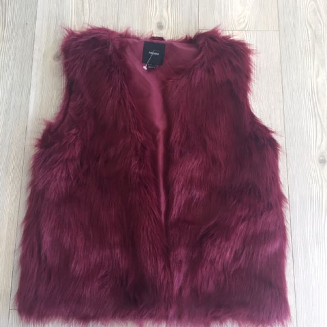 Overthrown Faux Fur Jacket