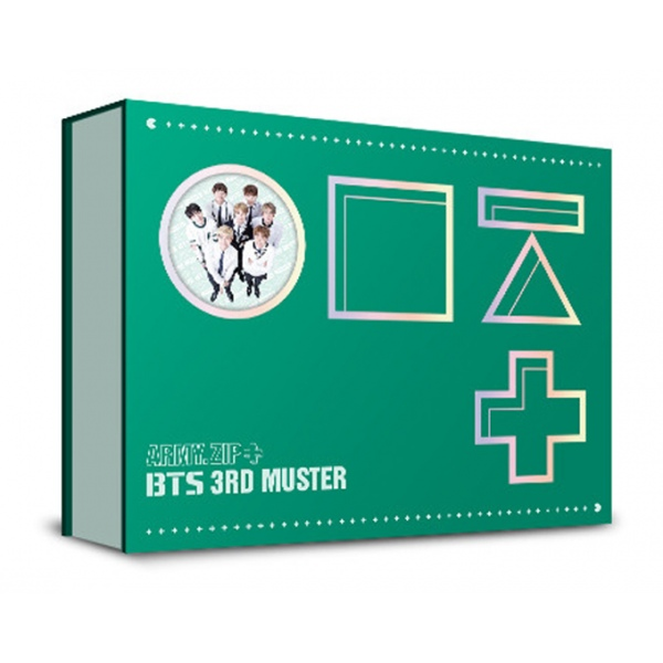 [PO] BTS 3rd Muster Army Zip+ DVD and Blu Ray Ver