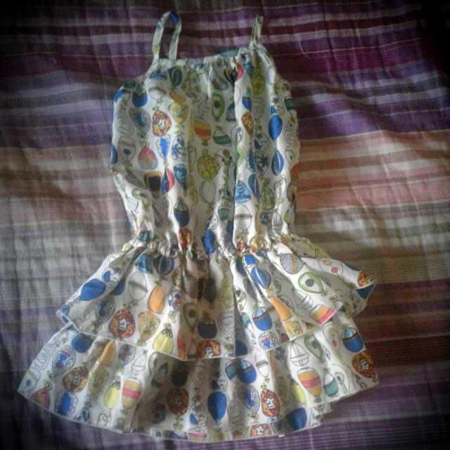 *Pre Loved* Little Miss 4T Dress
