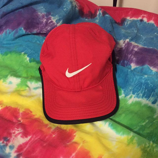 Red Nike Cap