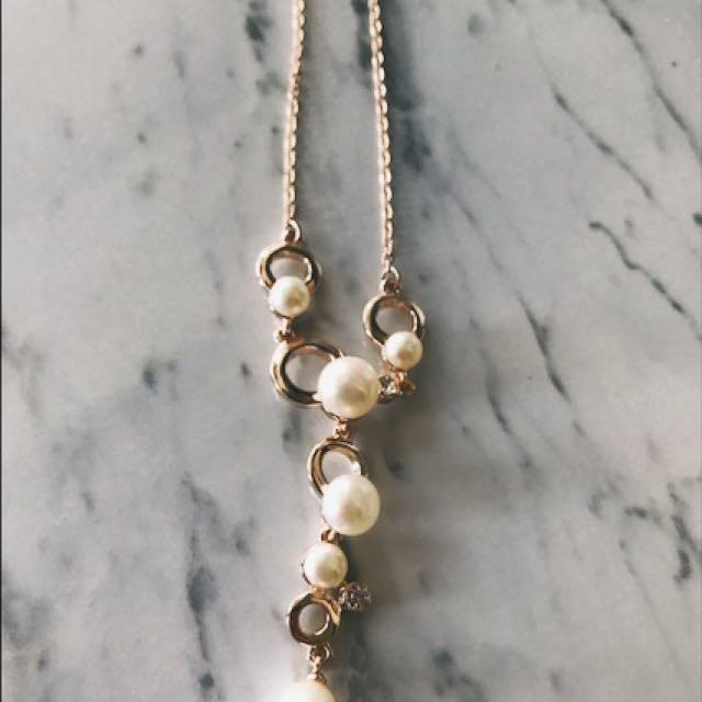 Rose Gold Colour Necklace