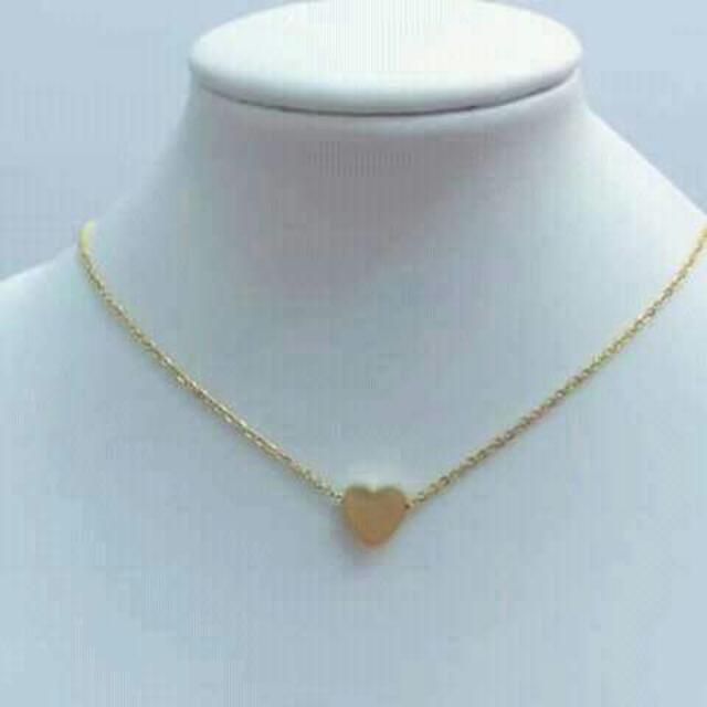 Rosegold Stainless Necklace (Heart Designs)