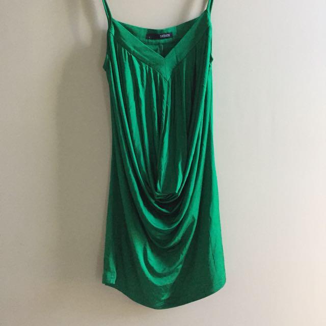 Seduce Emerald Dress Size 6