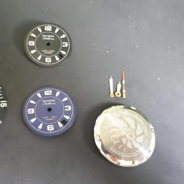 Seiko Fifty Five Fathoms dials And Case Parts, Luxury