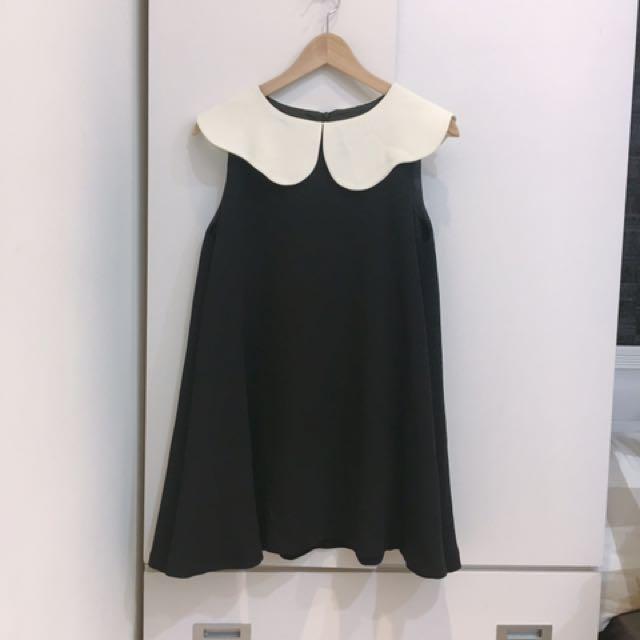 So Nice 法國黑白小洋裝