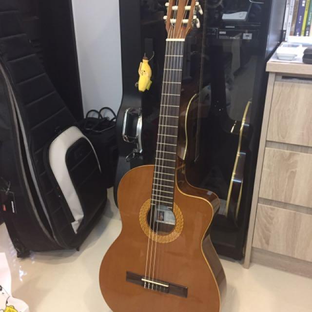 Spain Manuel Rodriguez 10 Cut 古典吉他