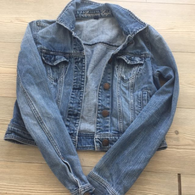 Super Cute Tight Jean Jacket