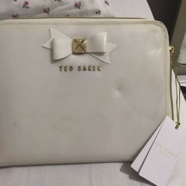 Ted Baker Ipad Case White