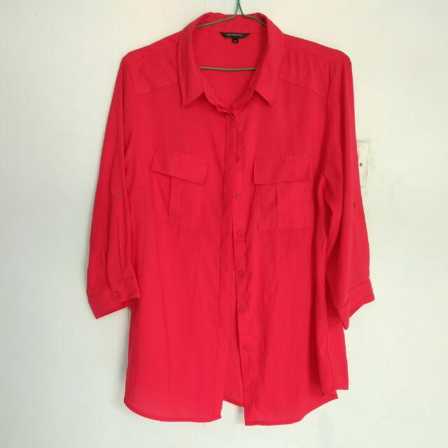 The Executive Red Shirt