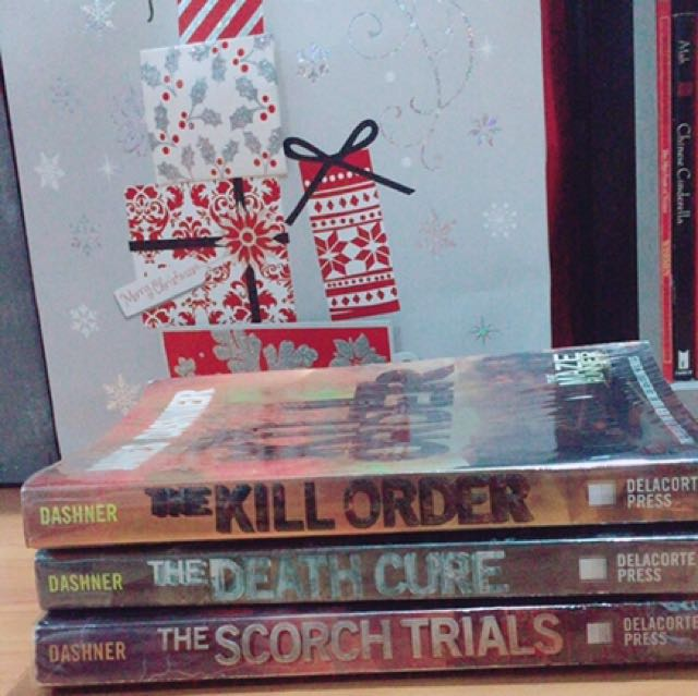 The Scorch Trials. The Kill Order. The Death Cure