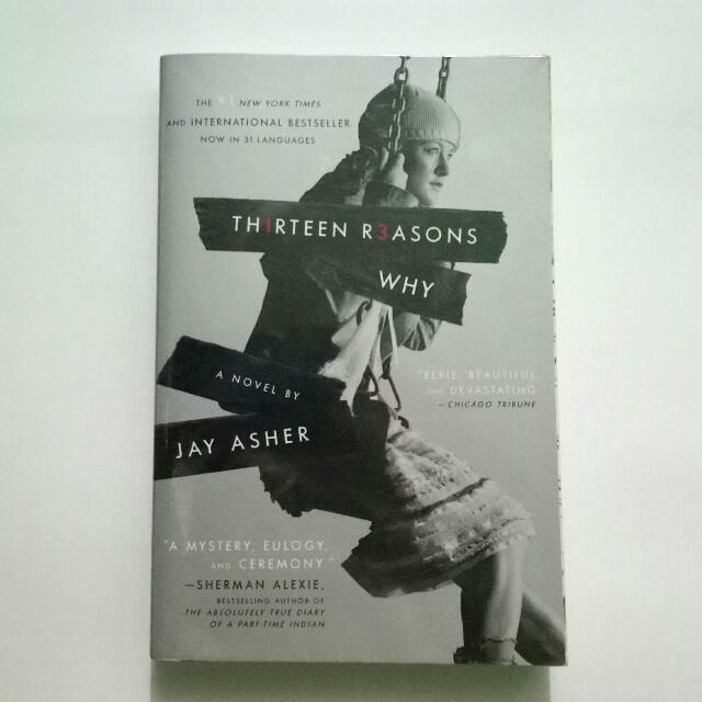 Thirteen Reasons Why book by Jay Asher