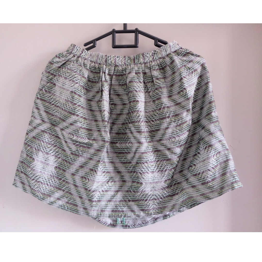 'Topshop'  Tribal skirt