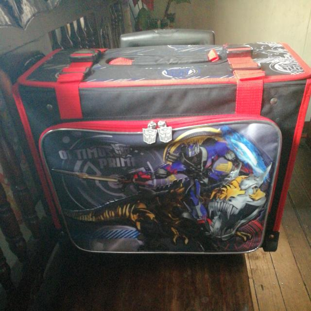 REPRICED! Transformers Optimus Price School Trolley For Boys