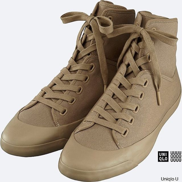Uniqlo U Canvas Hi Cut sneakers