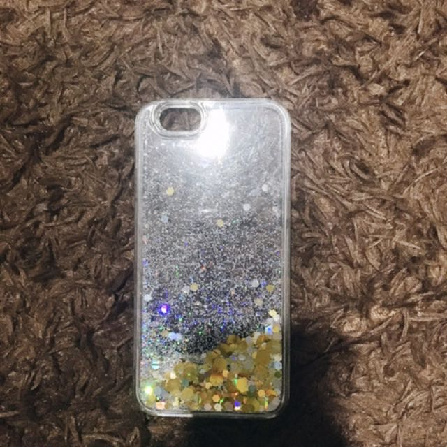 Urban Outfitters Glittery Phone Case (iPhone 6/6s)