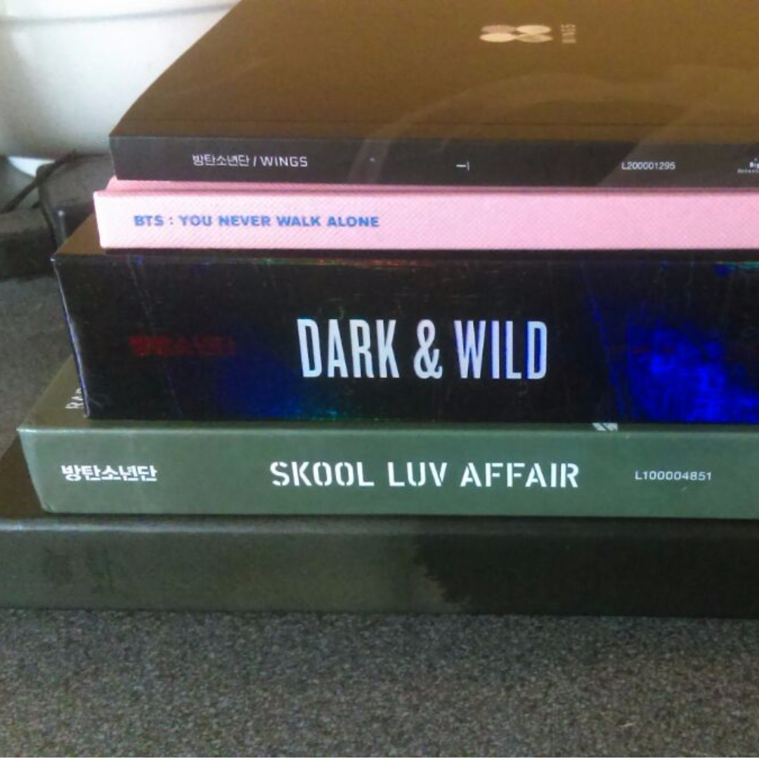 Various BTS Albums