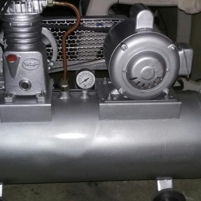 Vespa Compressor and Spray Gun F-75