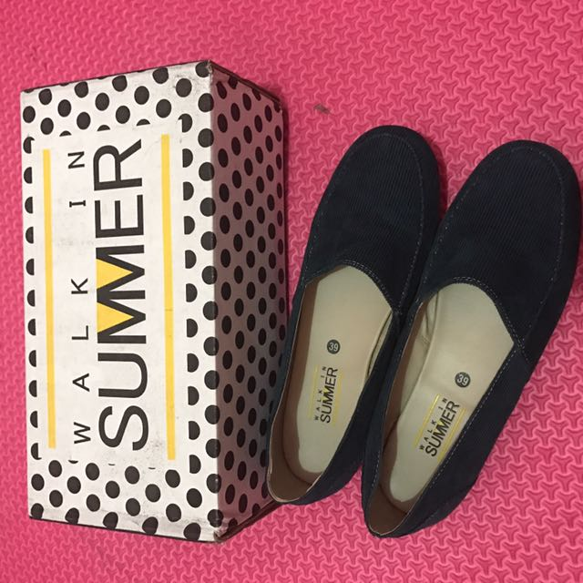 Walk in Summer Shoes