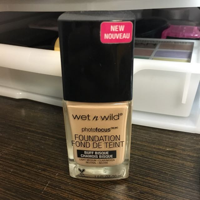 wet n wild photofocus foundation 粉底液 Catie大推 #兩百元彩妝出清