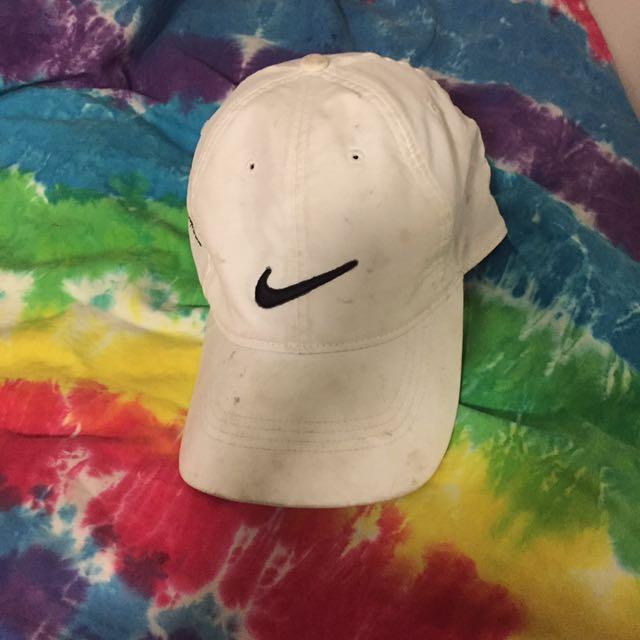 White Nike Cap