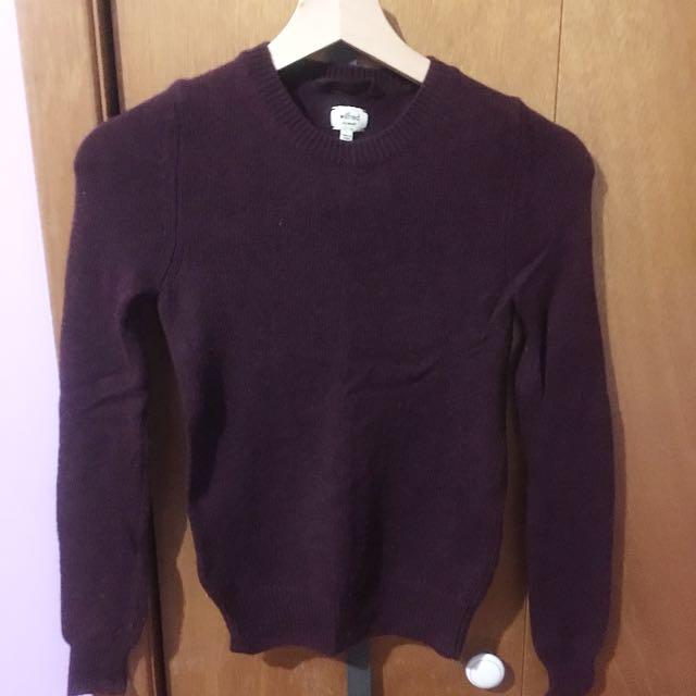 Wilfred Knit Sweatshirt