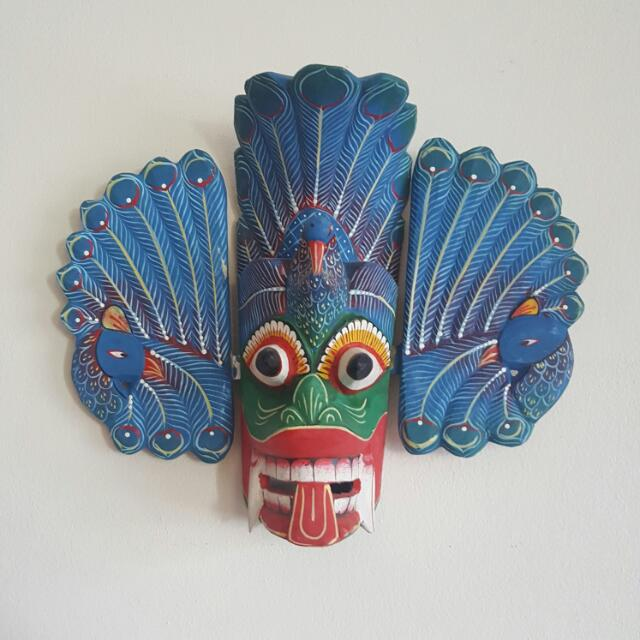 Wood Mask - From 1800s- Sri Lankan