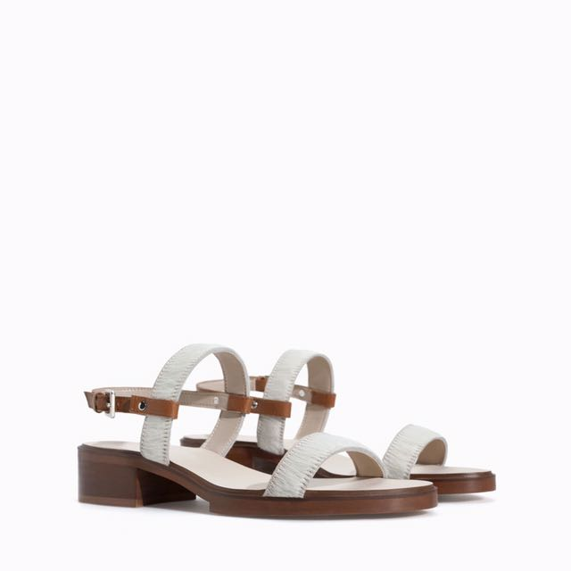 Zara Cow Hide Sandals