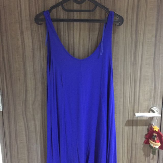 Zara Electric Blue Jumpsuit