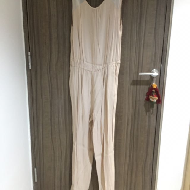 Zara Peach Jumpsuit