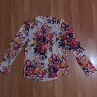 Floral Long Sleeves