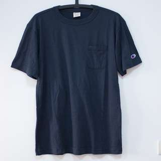 champion高質感日線口袋短T 日本購入 SIZE L