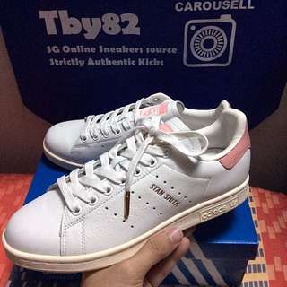 0375be55c90b (PO) Exclusive Adidas Womens Stan Smith Pink Rose gold