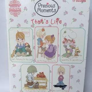 Cross Stitch Leaflet: That's Life