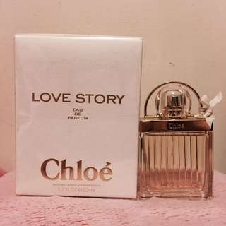 Chloe 香水 50ml 愛情故事 專櫃正品